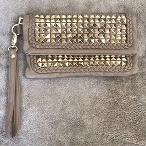 Bebe Wristlet Gold Studded(SEE-PICTURES)